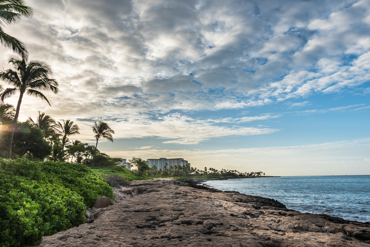 Heading South – Aulani Coastline