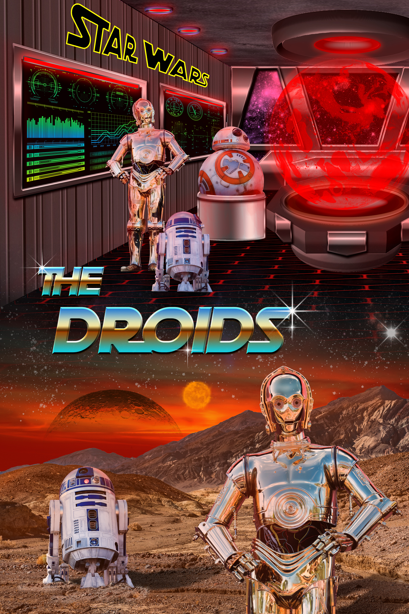 The Star Wars Droids – Poster Three